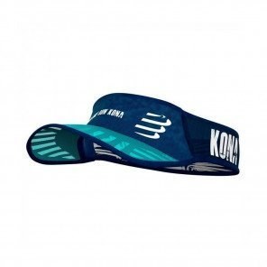 COMPRESSPORT Visière SPIDERWEB ULTRALIGHT KONA 2019 | Bleu