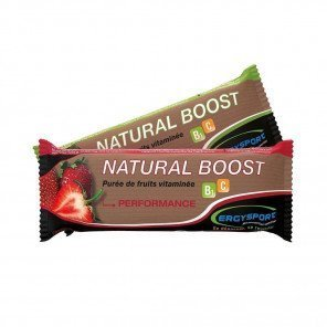 ERGYSPORT Natural Boost - Stick de 30g | Fraise