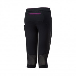 RONHILL CORSAIRE STRETCH STRIDE Femme | BLACK/GRAPE JUICE