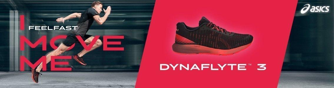 ASICS DynaFlyte 3 Femme Black/Flash Coral