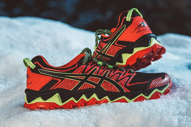 9af8ca2a904 ASICS GEL-FUJITRABUCO 7 HOMME | RED SNAPPER / BLACK | Collection ...